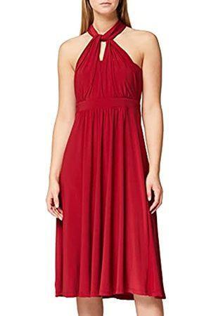 TRUTH & FABLE Mujer Cóctel - Marca Amazon - Vestido Mujer Multiposición, (Burgundy), 44