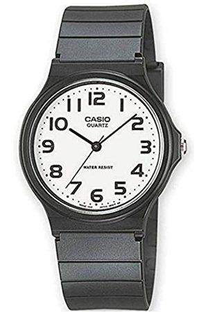 Casio Reloj Analógico para Hombre de Cuarzo con Correa en Resina MQ-24-7B2LEG