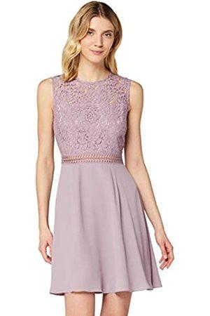 TRUTH & FABLE Marca Amazon - Jcm-42470 - vestidos mujer Mujer, Morado (Lilac Qual), 40