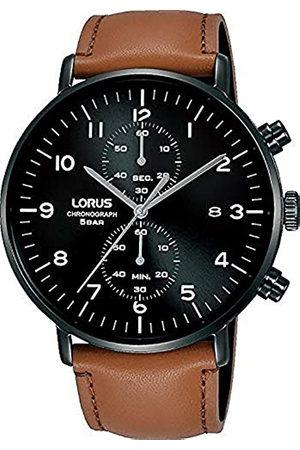 Lorus Hombre Relojes - Reloj Analógico para Hombre de Cuarzo con Correa en Piel RW407AX9