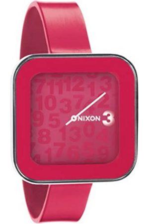 Nixon Mujer Relojes - A162481-00 - Reloj analógico y Digital de Cuarzo para Mujer con Correa de Silicona