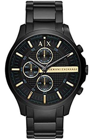 Armani Hombre Relojes - Reloj Cronógrafo para Hombre de Cuarzo con Correa en Tela AX2164