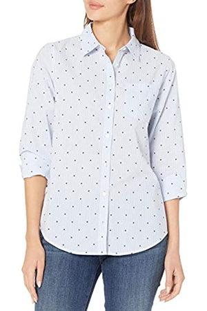 Amazon Mujer Casual - Classic-Fit 3/4 Sleeve Poplin Shirt Dress-Shirts