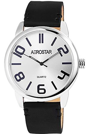Aerostar RelojAnalógicoparaHombredeCuarzoconCorreaenCuero2.11023E+11