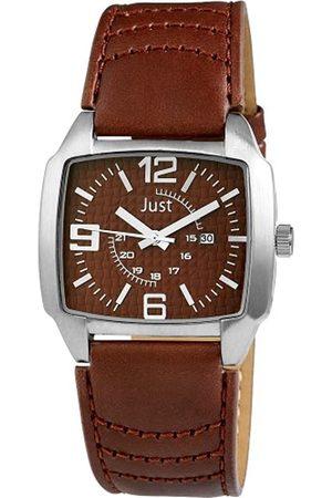 Just Watches Hombre Relojes - Reloj analógico de Cuarzo para Hombre con Correa de Piel