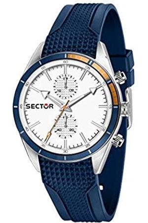Sector No Limits Hombre Relojes - Reloj Analógico para Hombre de Cuarzo con Correa en Silicona R3251516005