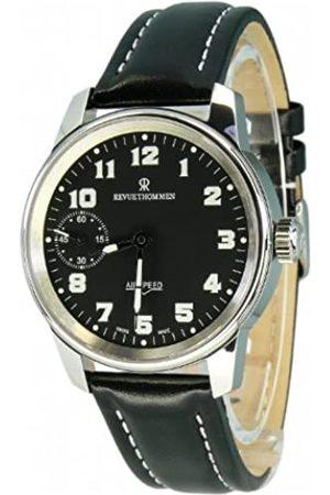 Revue Thommen Hombre Relojes - 16702.3587 - Reloj analógico Manual para Hombre con Correa de Piel