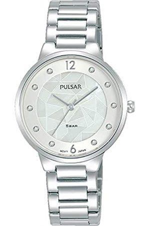 Seiko Pulsar Reloj Analógico para Mujer de Cuarzo con Correa en Metal PH8511X1
