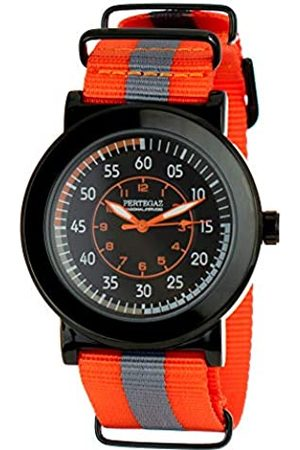 Pertegaz Hombre Relojes - Reloj Analógico para Hombres de Cuarzo con Correa en Nylon PDS-022