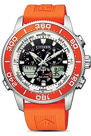 Citizen Hombre Relojes - Reloj para Hombre de Cuarzo con Correa en Sintetico JR4061-18E