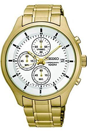 Seiko Hombre Relojes - RelojCronógrafoparadelosHombresdeCuarzoconCorreaenAceroInoxidableSKS544P1