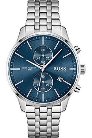 HUGO BOSS Hombre Relojes - HugoBOSSRelojAnalógicoparaHombredeCuarzoconCorreaenAceroInoxidable1513839
