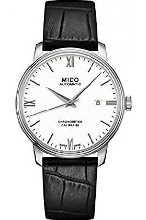 MIDO Hombre Relojes - RelojAnalógicoparaHombredeCuarzoconCorreaenCueroM0274081601800