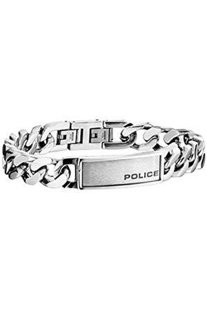 Police Hombre Pulseras - Pulsera charm Hombre acero inoxidable - PJ25485BSS.01