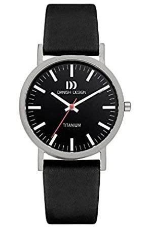 Danish Design DanishDesignIQ13Q199-RelojparaMujeresCorreadeCueroColorNegro