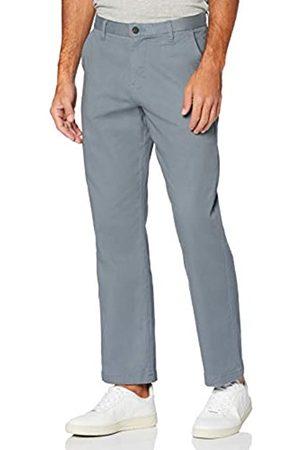 MERAKI Hombre Pantalones chinos - Pantalón Chino de Algodón Hombre, Azul (tiempo tormentoso), 42W / 32L