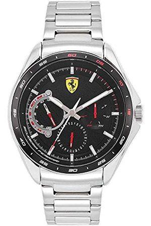 Scuderia Ferrari Hombre Relojes - Reloj Analógico para Hombre de Cuarzo con Correa en Acero Inoxidable 0870037