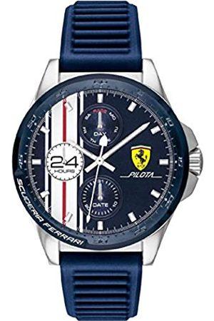 Scuderia Ferrari Reloj Analógico para Hombre de Cuarzo con Correa en Silicona 0830660