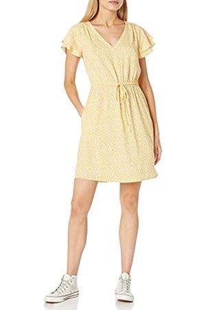 Goodthreads Mujer Casual - Georgette Ruffle-Sleeve Mini Dress Vestido