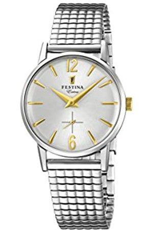 Festina Reloj Análogo clásico para Mujer de Cuarzo con Correa en Acero Inoxidable F20256/2