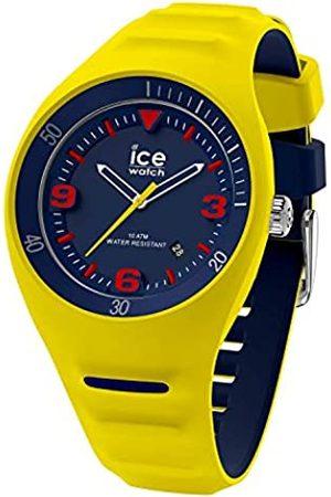 Ice-Watch Hombre Relojes - P. Leclercq - Reloj para Hombre con Correa de silicona (Neon yellow)