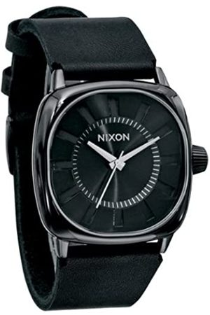 Nixon Hombre Relojes - A012001-00 - Reloj analógico de Cuarzo para Hombre con Correa de Piel