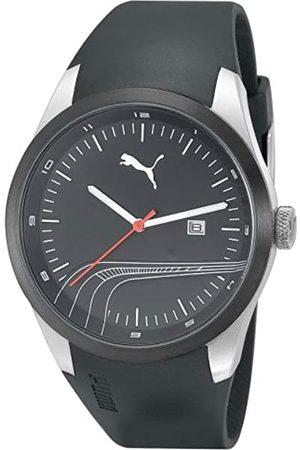 PUMA Relojes - Motorsport PU102531001 - Reloj analógico de Cuarzo Unisex con Correa de plástico