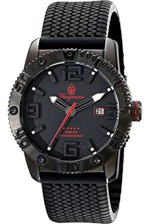 Burgmeister Hombre Relojes - BM522-622E - Reloj analógico de Cuarzo para Hombre con Correa de Silicona