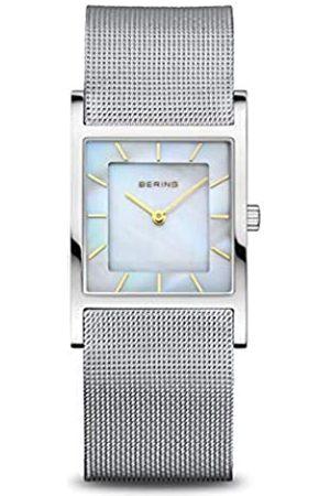 Bering Reloj Analógico para Mujer de Cuarzo con Correa en Acero Inoxidable 10426-010-S