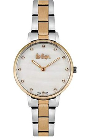 Lee Cooper Reloj Analógico para Mujer de Cuarzo con Correa en Metal LC06940