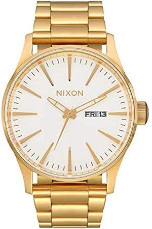 Nixon Reloj Analógico para Mujer de Cuarzo con Correa en Acero Inoxidable A356-508-00
