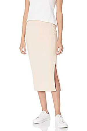 THE DROP Veronique Falda de cintura alta con raja para Mujer