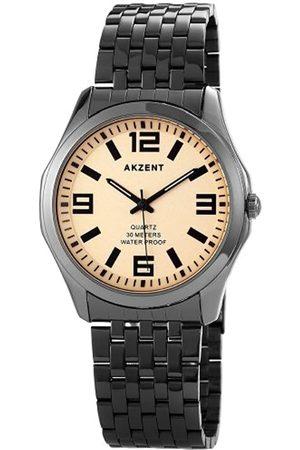 Akzent 42 - Reloj de Cuarzo para Hombre, con Correa de Diversos Materiales