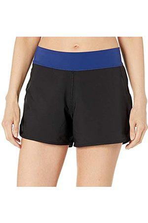 Amazon Mujer Ropa de baño - Women's Woven Swim Short Fashion Trunks