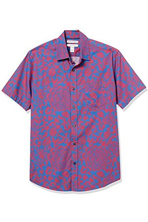 Amazon Regular-Fit Short-Sleeve Shirt Button-Down-Shirts, Floral Grande /