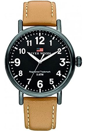 River Woods Reloj Analógico para Hombre de Cuarzo con Correa en Cuero RW420037