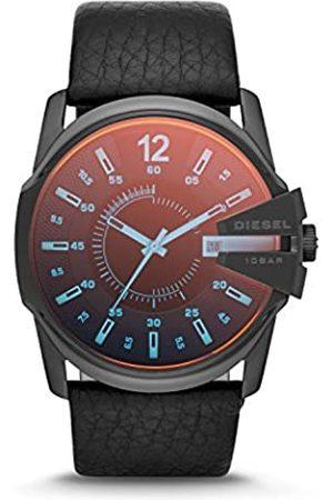 Diesel Hombre Relojes - Reloj Analogico para Hombre de Cuarzo con Correa en Piel DZ1657