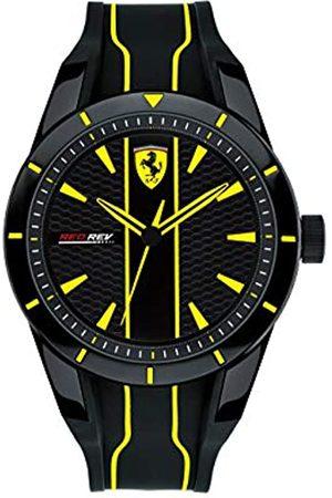 Scuderia Ferrari Hombre Relojes - Reloj Analógico para Hombre de Cuarzo con Correa en Silicona 830482