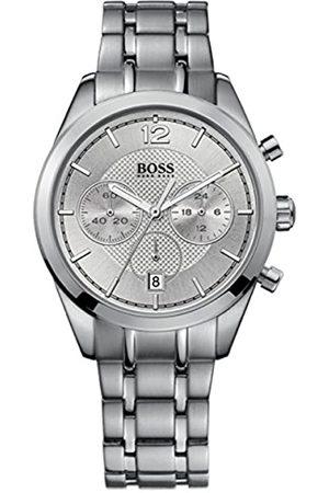 HUGO BOSS Hombre Relojes - Reloj Cronógrafo para Hombre de Cuarzo con Correa en Acero Inoxidable 1512748