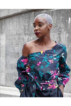THE DROP Mujer Camisetas y Tops - By @signedblake - Camiseta para mujer de manga larga con hombro asimétrico