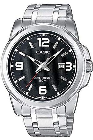 Casio Hombre Relojes - Reloj Analógico de Cuarzo con Correa en Acero Inoxidable MTP-1314PD-1AVEF