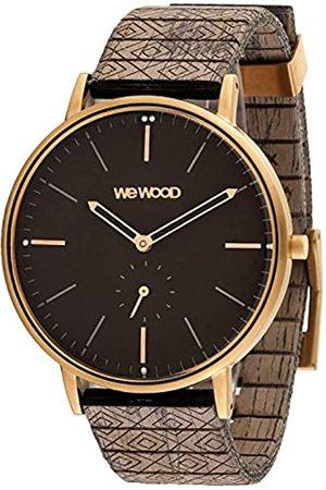 WeWood Reloj Analógico para Hombre de Cuarzo con Correa en Madera WW63004