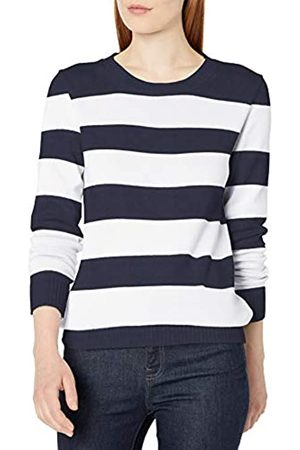 Amazon Mujer Jerséis y suéteres - 100% Cotton Crewneck Sweater Pullover-Sweaters S