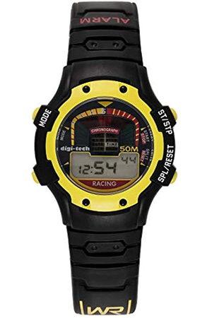 Digi-Tech Reloj Digital para Hombre de Cuarzo con Correa en Caucho DT102906