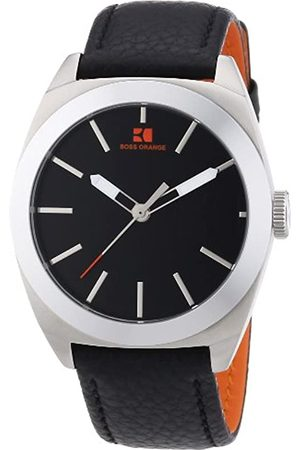 HUGO BOSS Hombre Relojes - Boss Orange - Reloj analógico para Caballero de Cuero