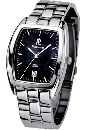 Pierre Lannier Hombre Relojes - 010H439 - Reloj analógico de Cuarzo para Hombre con Correa de Acero Inoxidable