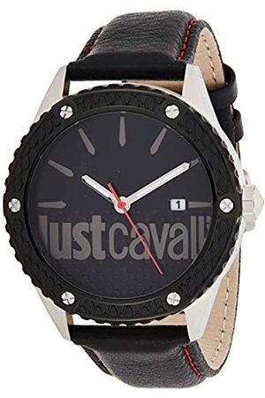 Just Cavalli Reloj Analógico-Digital para Adultos Unisex de Cuarzo con Correa en Aleación 1