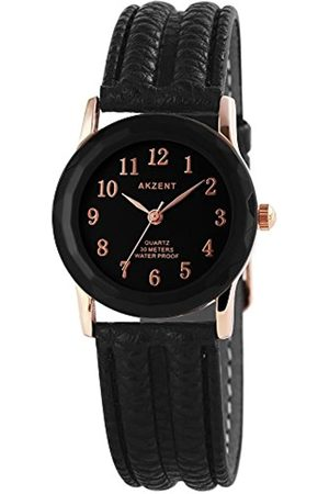 Akzent Mujer Relojes - RelojAnalógicoparaMujerdeCuarzoconCorreaenCueroSS7331000013