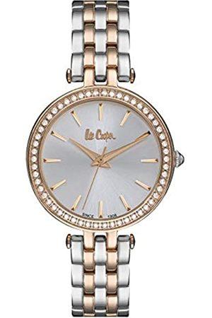 Lee Cooper Mujer Relojes - Reloj Analógico para Mujer de Cuarzo con Correa en Metal LC06944