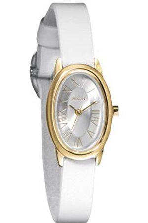 Nixon Mujer Relojes - A247504-00 - Reloj analógico de Cuarzo para Mujer con Correa de Piel